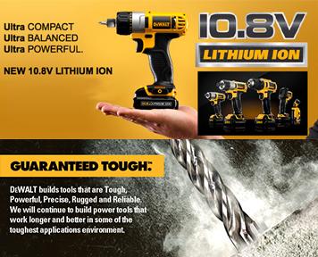 DEWALT 得偉 10.8V 電鑽 Impact Drill 鋰電充電鑽 DRILL 電動工具 TOOL