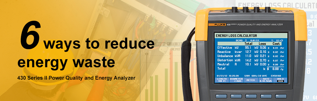Fluke 435II Power Quality & Energy Analyzer
