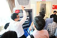 華輝科技群英會 2013 回顧 - RITTAL 機櫃展示及講解