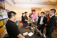 華輝科技群英會 2013 回顧 - 在場同時展出工程中常用電動工具