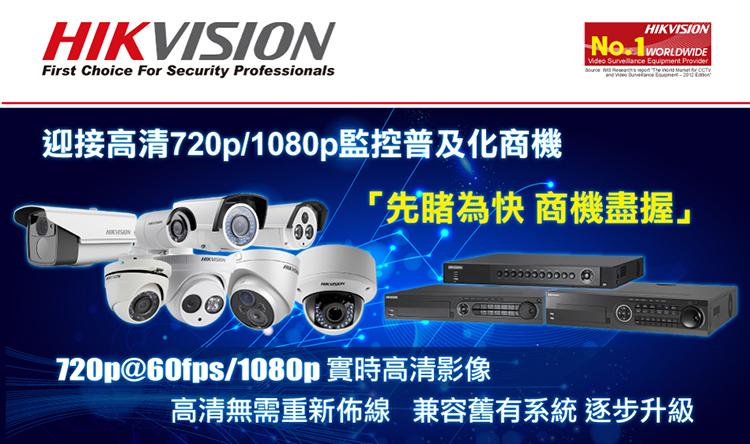 HIKVISION IP Cam Analog Cam