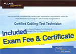 included exam fee & certificate